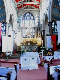 Pierwsza komunia święta kościoł